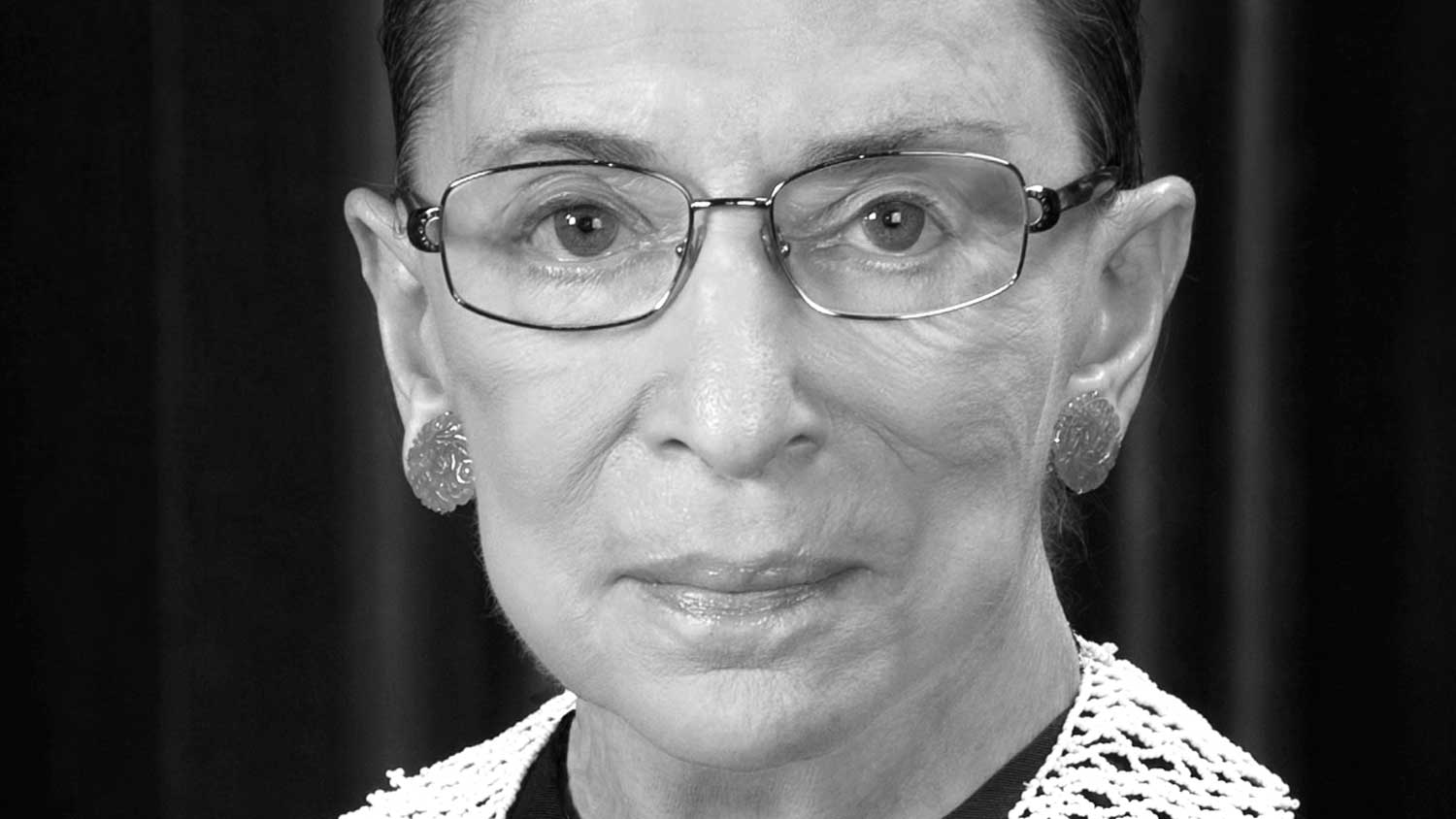 Ruth Bader Ginsburg, official SCOTUS portrait